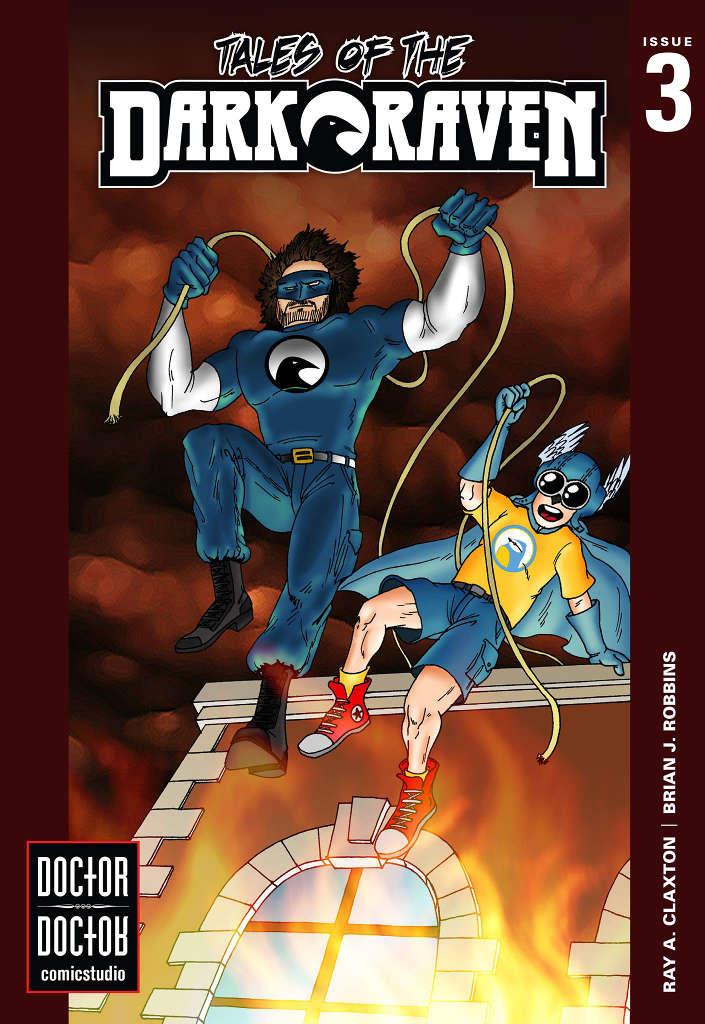Dark Raven #3 Cover